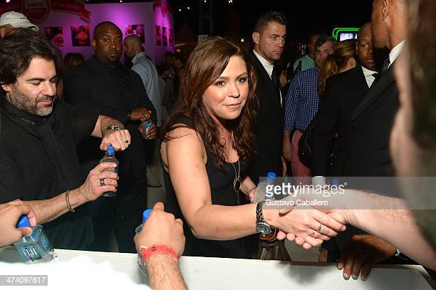 Producer John M Cusimano and TV Personality Rachael Ray attend Amstel Light Burger Bash presented by Pat LaFrieda Meats hosted by Rachael Ray during...