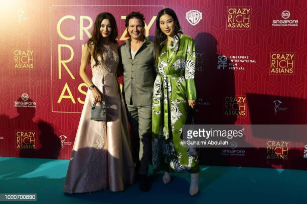 Producer John Penotti and guests attend the Singapore premiere of 'Crazy Rich Asians' on August 21 2018 in Singapore