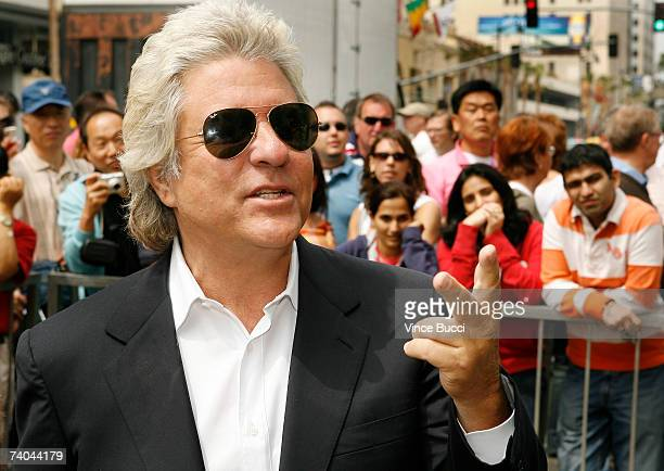 Producer John Peters attends the ceremony honoring him with a star on the Hollywood Walk of Fame May 1 2007 in Hollywood California