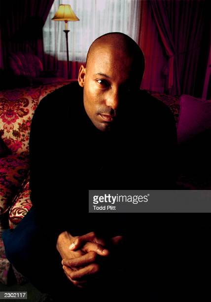 Producer John Singleton poses for a portrait in New York City's Regency Hotel on February 9 1997 Todd Plitt/Imagedirect*** SPECIAL