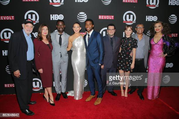 Producer Johnathen Sanger producer Paula Wagner actors Sterling K Brown Kate Hudson Chadwick Boseman Josh Gad Ahna O'Reilly director Reginald Hudlin...
