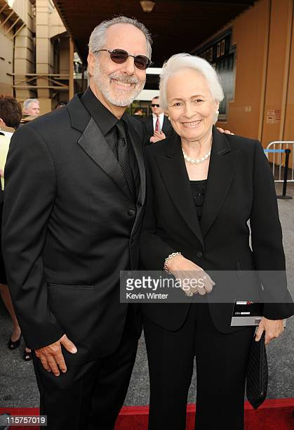 Producer Jon Avnet and producer Jean Firstenberg arrive at the 39th AFI Life Achievement Award honoring Morgan Freeman held at Sony Pictures Studios...