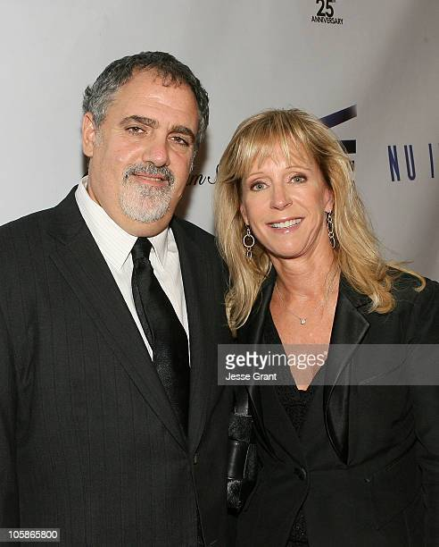Producer Jon Landau and Julie Landau attend the Israel Film Festival's 25th Anniversary Gala at The Beverly Hilton Hotel on October 20 2010 in...