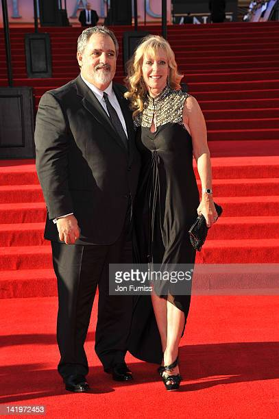 Producer Jon Landau and Julie Landau attend the Titanic 3D world premiere at the Royal Albert Hall on March 27 2012 in London England