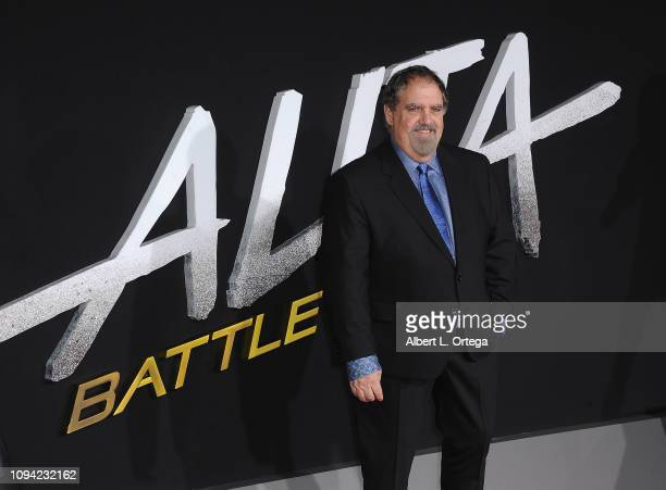 Producer Jon Landau arrives for the Premiere Of 20th Century Fox's Alita Battle Angel held at Westwood Regency Theater on February 5 2019 in Los...
