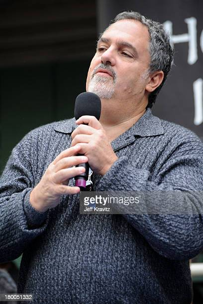 Producer Jon Landau plants first tree in North America symbolizing the one million tree initiative on behalf of the Avatar Bluray disc and DVD...