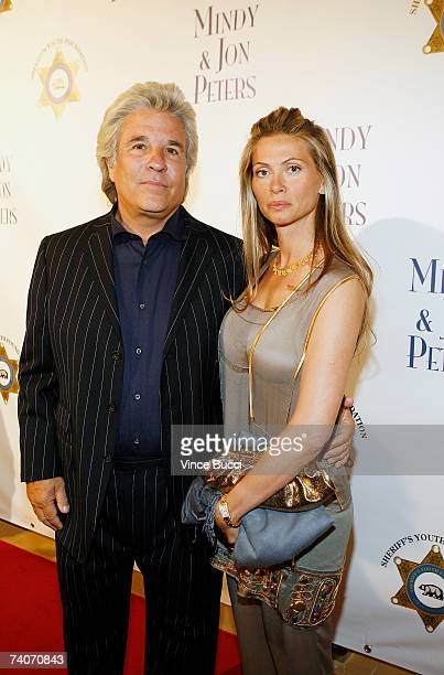 Producer Jon Peters and wife Mindy Peters attend the Los Angeles County Sheriff's Youth Foundation's annual Salute To Youth benefit dinner on May 3...