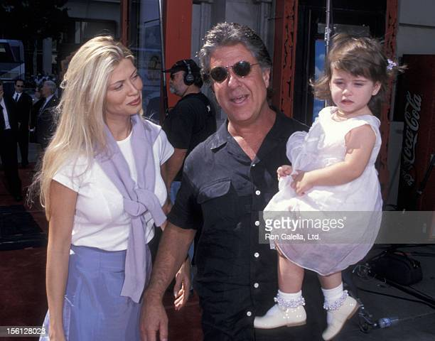 Producer Jon Peters wife Mindy Williamson and daughter Kendyl Peters attend Bob Daly and Terry Semel Hand and Foot Prints Ceremony on September 30...
