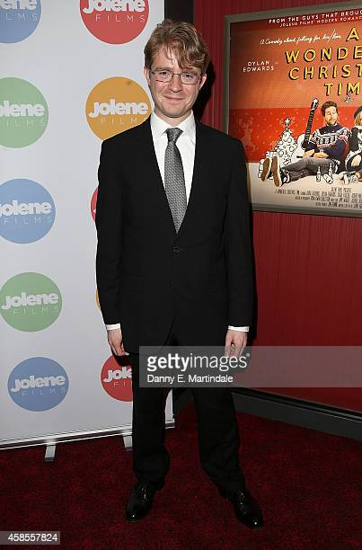 producer jon rennie attends the uk premiere of a wonderful christmas time at empire - A Wonderful Christmas Time