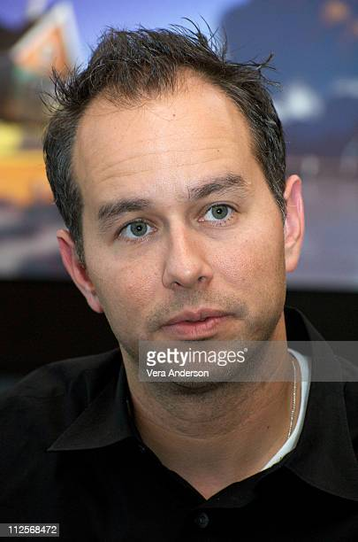 Producer Jonas Rivera at the Up press conference at the Pixar Studios on May 7 2009 in Emeryville California