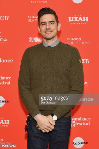 Producer Jonathan Lynch attends the 'Hal' Premiere during the 2018 Sundance Film Festival at The Marc Theatre on January 22 2018 in Park City Utah