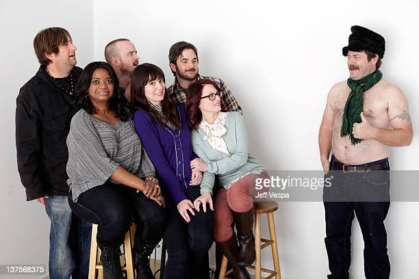 Producer Jonathan Schwartz actors Octavia Spencer Aaron Paul Mary Elizabeth Winstead writer/director James Ponsoldt actress Megan Mullally and actor...
