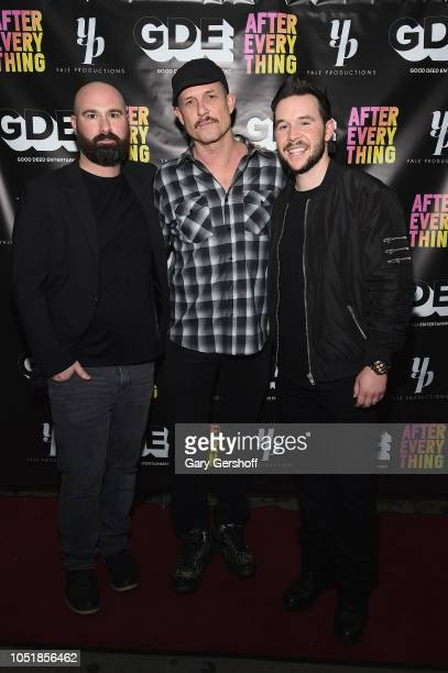 Producer Jordan Beckerman actor Dean Winters and producer Jordan Yale Levine attend the world premiere of 'After Everything' at IFC Center on October...
