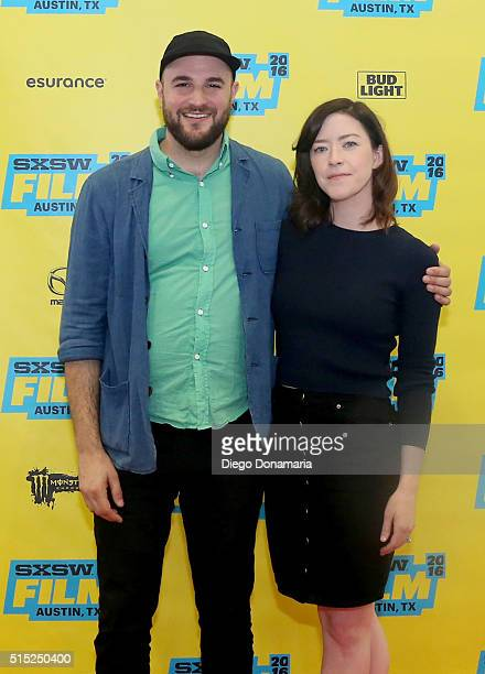 Producer Jordan Horowitz and writer/director Julia Hart attend the premiere of Miss Stevens during the 2016 SXSW Music Film Interactive Festival at...