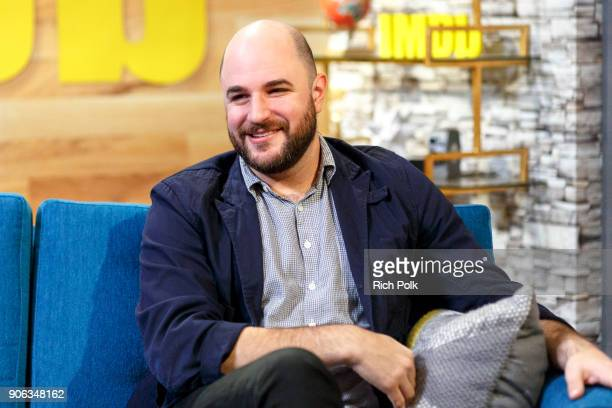 Producer Jordan Horowitz visits The IMDb Show on January 5 2018 in Studio City California This episode of The IMDb Show airs on January 18 2018