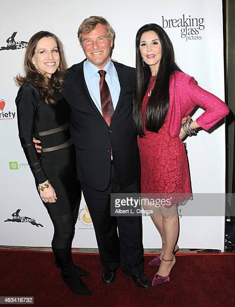 Producer Jordan Roberts sports agent Lee Steinberg and cofounder of Filmanthropic Barbara Lazaroff arrive for the Los Angeles Premiere of White...