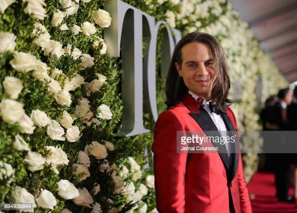 Producer Jordan Roth attends the 2017 Tony Awards at Radio City Music Hall on June 11 2017 in New York City