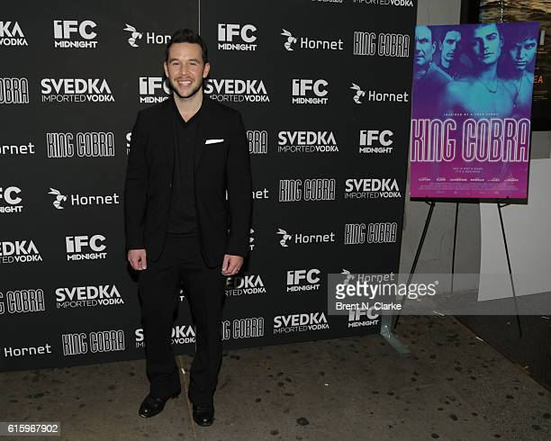 Producer Jordan Yale Levine attends the 'King Cobra' New York premeire held at the IFC Center on October 20 2016 in New York City
