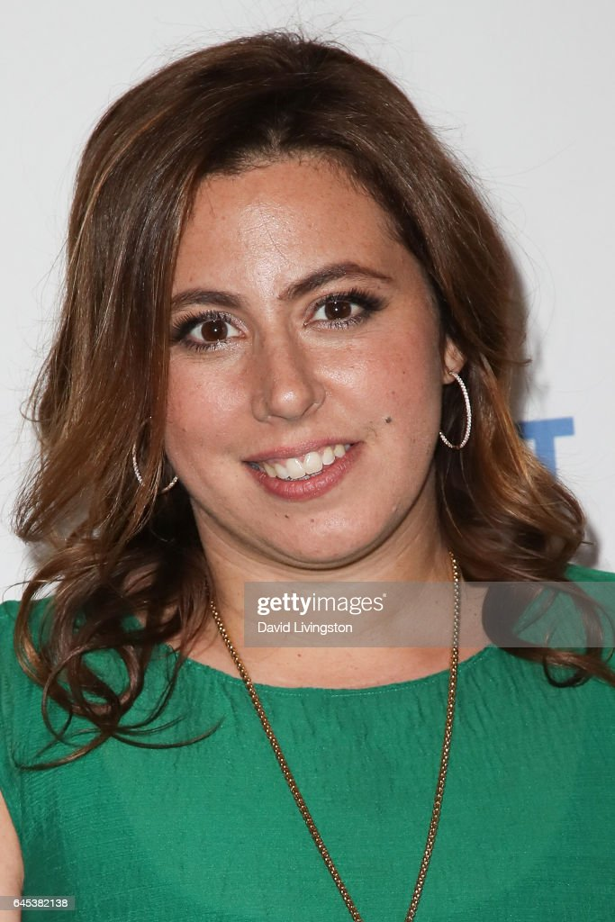 Producer Jordana Mollick, winner of the 20th Annual Piaget Producers Award, poses in the press room during the 2017 Film Independent Spirit Awards on February 25, 2017 in Santa Monica, California.