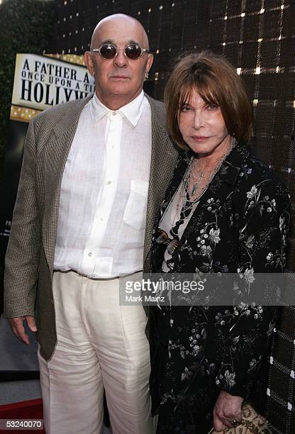 Producer Joseph Feury and his wife actress/director Lee Grant attend the Premiere of HBO's A FatherA SonOnce Upon A Time in Hollywood July 14 2005 at...