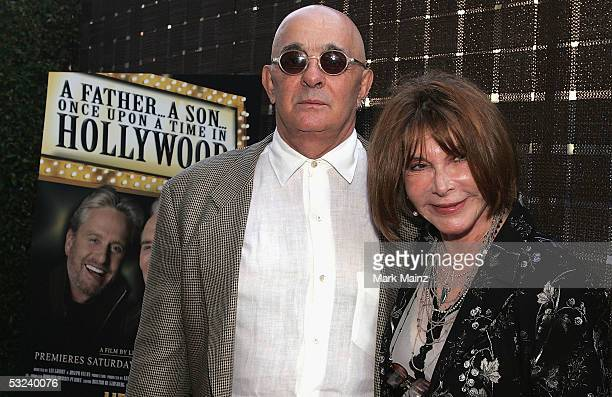 "Producer Joseph Feury and his wife actress/director Lee Grant attend the Premiere of HBO's ""A Father...A Son...Once Upon A Time in Hollywood"" July..."