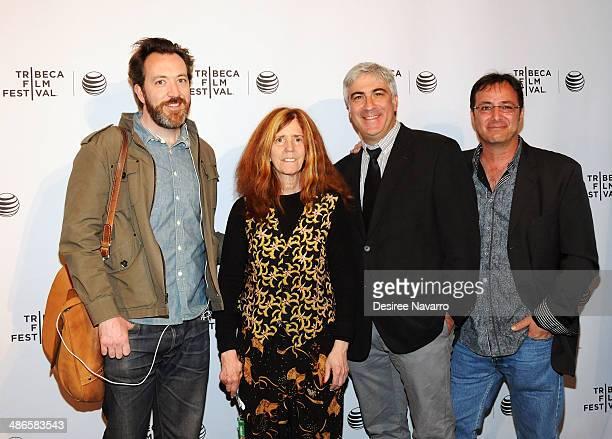 Producer Josh Hetzler Elizabeth Swados David Wachtenheim and Robert Marianetti attend the Shorts Program City Limits during the 2014 Tribeca Film...