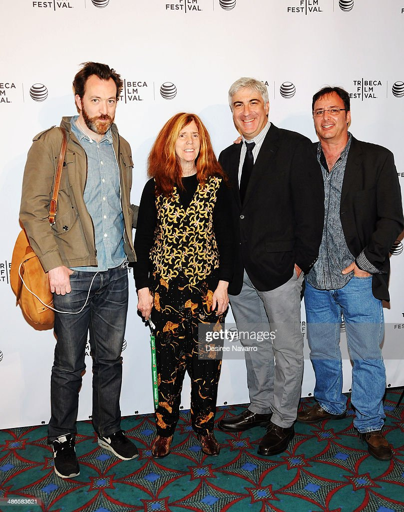 Producer Josh Hetzler, Elizabeth Swados, David Wachtenheim, and Robert Marianetti attend the Shorts Program: City Limits during the 2014 Tribeca Film Festival at AMC Loews Village 7 on April 24, 2014 in New York City.