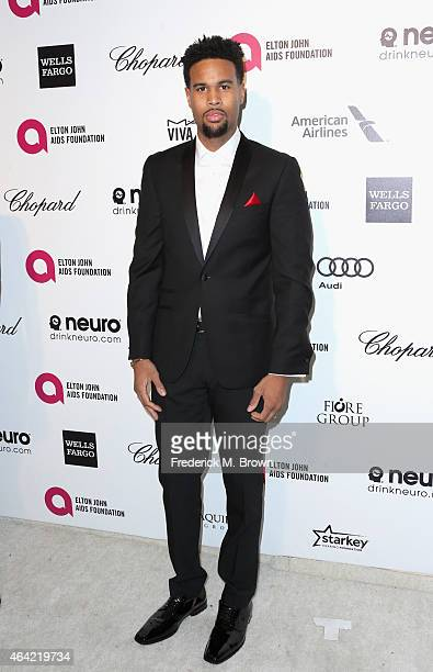 Producer Josiah Bell attends the 23rd Annual Elton John AIDS Foundation's Oscar Viewing Party on February 22 2015 in West Hollywood California