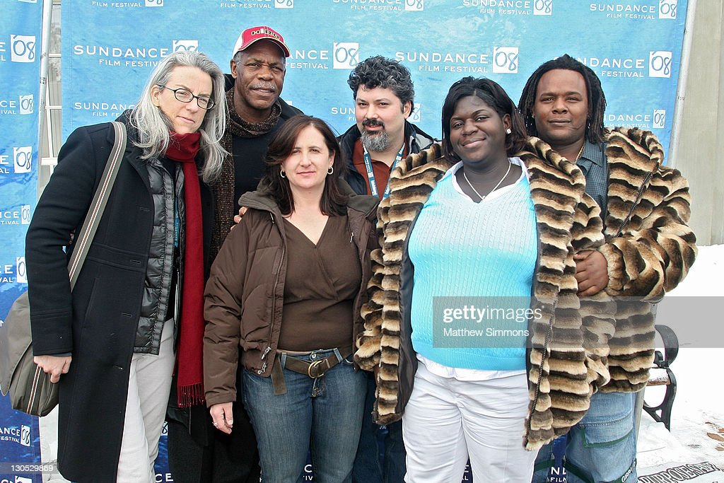 Producer Joslyn Barnes, Director Tia Lessin, Director Carl Deal, Director of Photography Kimberly Rivers Roberts and Scott Roberts attend a screening of 'Trouble The Water' at the Library Theatre during the 2008 Sundance Film Festival on January 20, 2008 in Park City, Utah.
