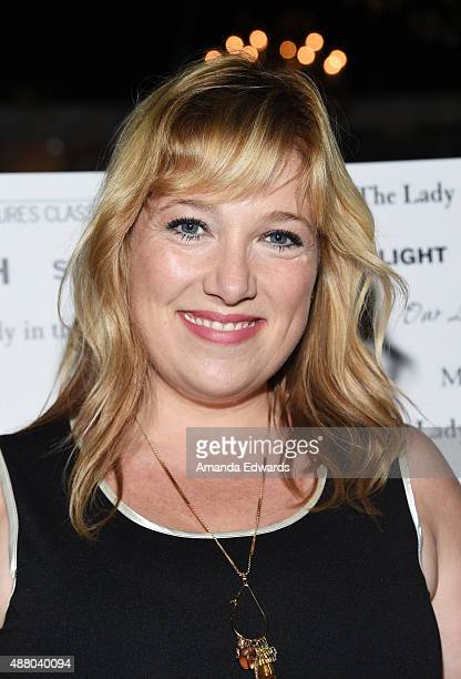 Producer Joy Gorman arrives at the Sony Pictures Classics TIFF Celebration Dinner at Creme Brasserie at TIFF Bell Lightbox on September 12 2015 in...