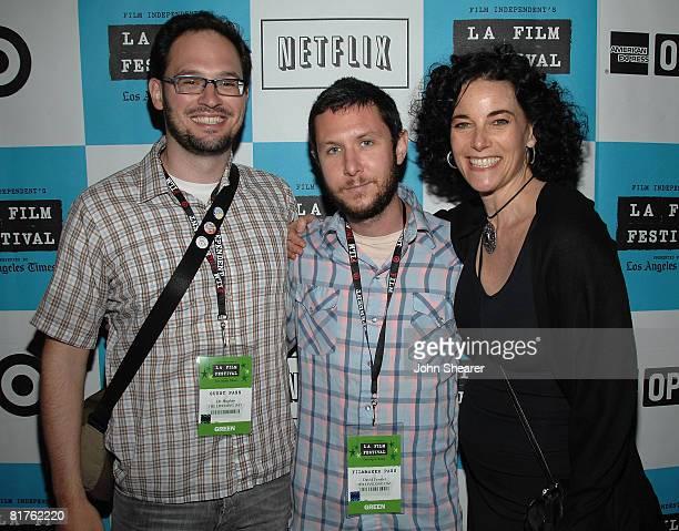 Producer JR Hughto director David Fenster and Film Independent's Hebe Tabachnik attend the 2008 Los Angeles Film Festival's Shorts Program 5...