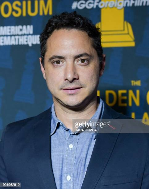 Producer Juan De Jesus Larrain attends The Golden Globe ForeignLanguage Nominees Series 2018 Symposium presented by The Hollywood Foreign Press...