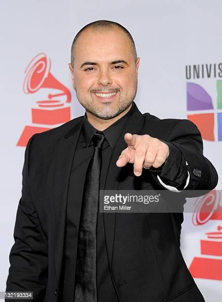 Producer Juan Magan arrives at the 12th annual Latin GRAMMY Awards at the Mandalay Bay Resort Casino on November 10 2011 in Las Vegas Nevada
