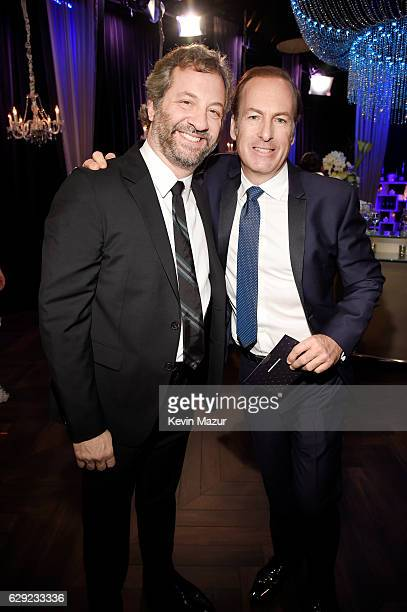 Producer Judd Apatow and actor Bob Odenkirk The 22nd Annual Critics' Choice Awards at Barker Hangar on December 11, 2016 in Santa Monica, California.