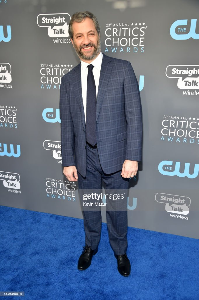 Producer Judd Apatow attends The 23rd Annual Critics' Choice Awards at Barker Hangar on January 11, 2018 in Santa Monica, California.