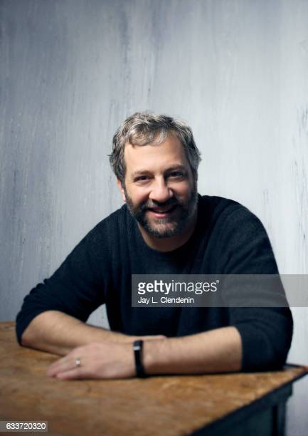 Producer Judd Apatow from the film 'The Big Sick' is photographed at the 2017 Sundance Film Festival for Los Angeles Times on January 20 2017 in Park...