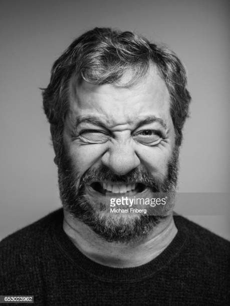 Producer Judd Apatow from the film 'The Big Sick' poses for a portrait at the Sundance Film Festival for Variety on January 21 2017 in Salt Lake City...