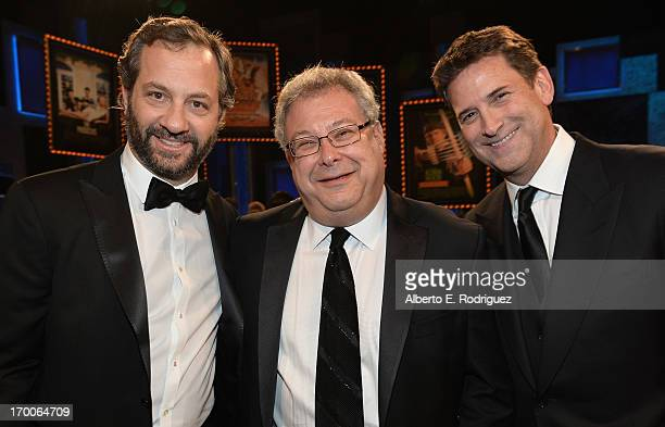 Producer Judd Apatow President of Turner Entertainment Networks Steve Koonin and President Head of Programming for TNT TBS and Turner Classic Movies...