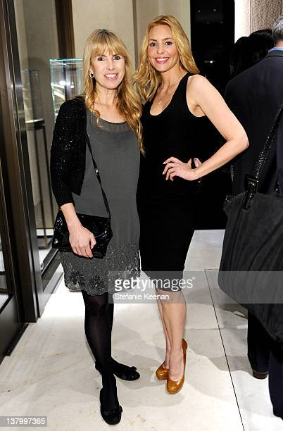 Producer Julia Verdin and actress Olivia d'Abo attend the opening of Pomellato's Rodeo Drive boutique hosted by Tilda Swinton and benefiting MOCA...
