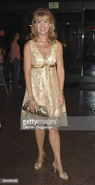 Producer Julia Verdin atttends the world premiere of Dirty Deeds at the Directors Guild of America on August 23 2005 in Los Angeles California