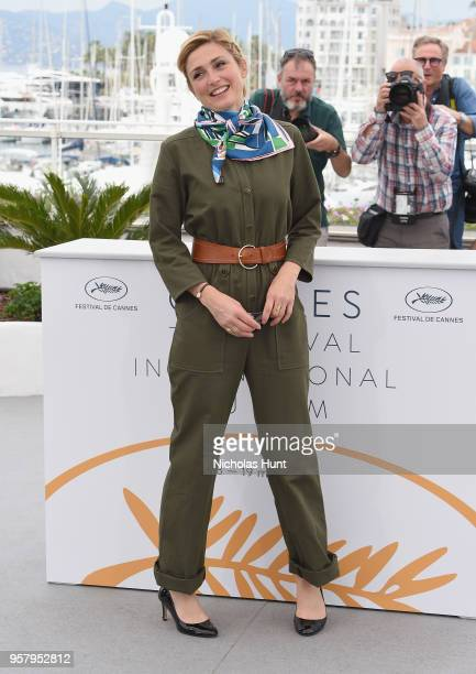 Producer Julie Gayet attends the photocall for Murder Me Monster during the 71st annual Cannes Film Festival at Palais des Festivals on May 13 2018...