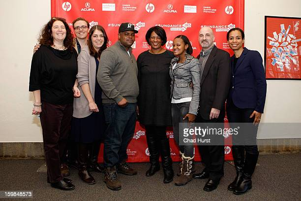 Producer Julie Goldman editor Matthew Hamachek coproducer Summer Damon documentary subject Travis Williams director Dawn Porter documentary subject...