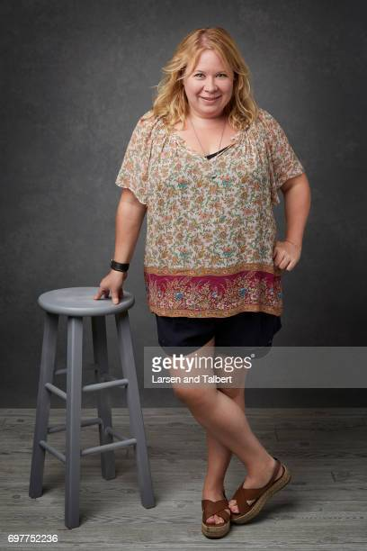 Producer Julie Plec is photographed for Entertainment Weekly Magazine on June 11 2017 in Austin Texas
