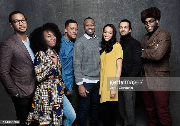Producer Julius Pryor IV actress Jenna Williams producer Marttise Hill writer/director Tahir Jetter and actors Charles Brice Dewanda Wise and Alano...