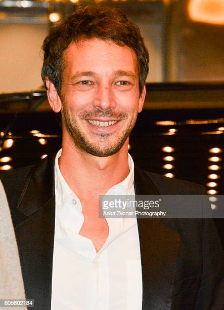 Producer Justin Taurand attends the 'Heal The Living' premiere held at Winter Garden Theatre during the Toronto International Film Festival on...