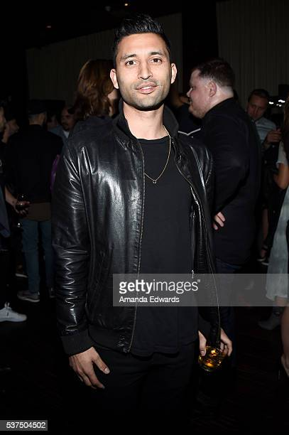 """Producer Justin Tipping attends the after party for the premiere of """"Lowriders"""" during opening night of the 2016 Los Angeles Film Festival at Beso on..."""