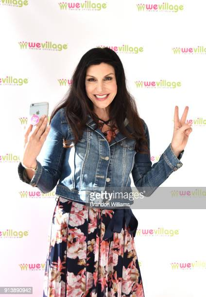 Producer Karen Beninati attends the live book reading for Garcelle Beauvais' book 'I Am Awesome' at her venue WeVillage Flexible Childcare Center on...