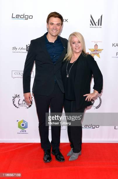 Producer Kash Hover and Donna Detwiler attends the Kash Hovey and Friends Film Block at Film Fest LA at Regal Cinemas LA LIVE Stadium 14 on November...