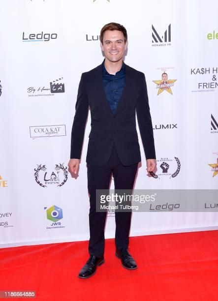 Producer Kash Hover attends the Kash Hovey and Friends Film Block at Film Fest LA at Regal Cinemas LA LIVE Stadium 14 on November 09 2019 in Los...