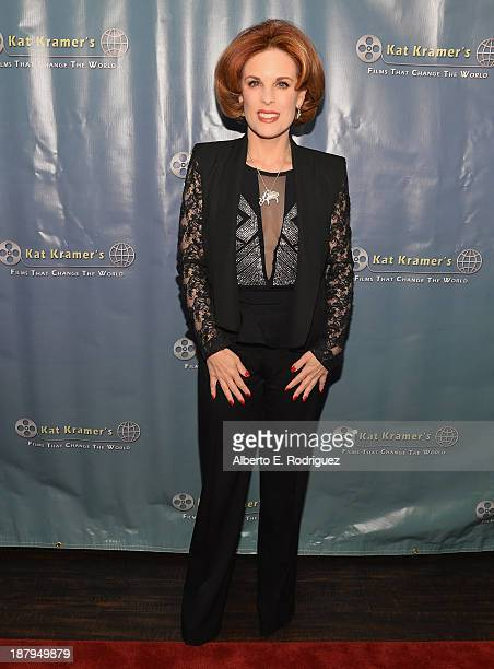 Producer Kat Kramer attends the 5th anniversary of 'Kat Kramer's Films That Changed The World' featuring the North American premiere of 'Fallout' at...